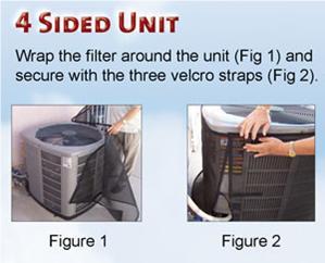 Kool Wrap A C Unit Filters