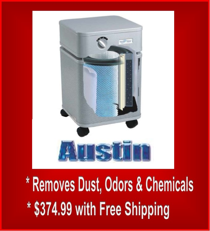 Room Air Purifiers by Austin Air