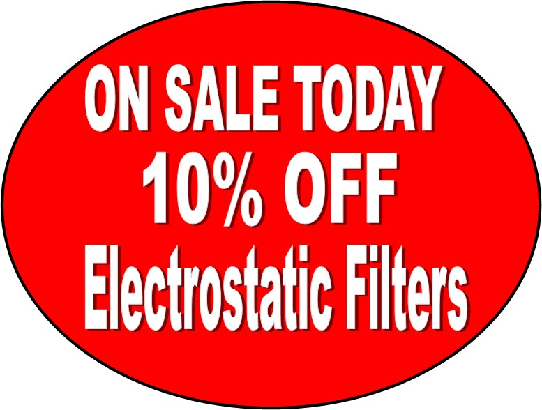 Electrostatic Filters On Sale