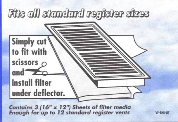 Register Vent Filters